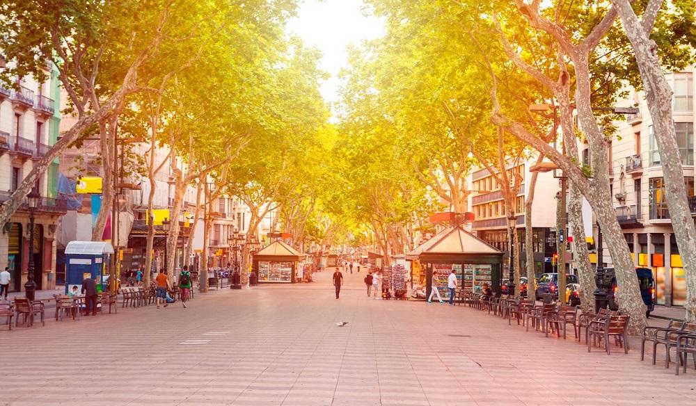 خیابان لا رامبلا بارسلونا