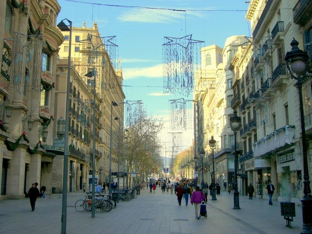 خیابان پورتال دل آنخل بارسلونا