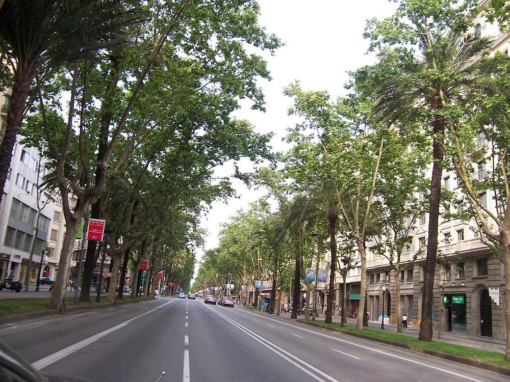 خیابان اوینگودا دیاگونال بارسلونا