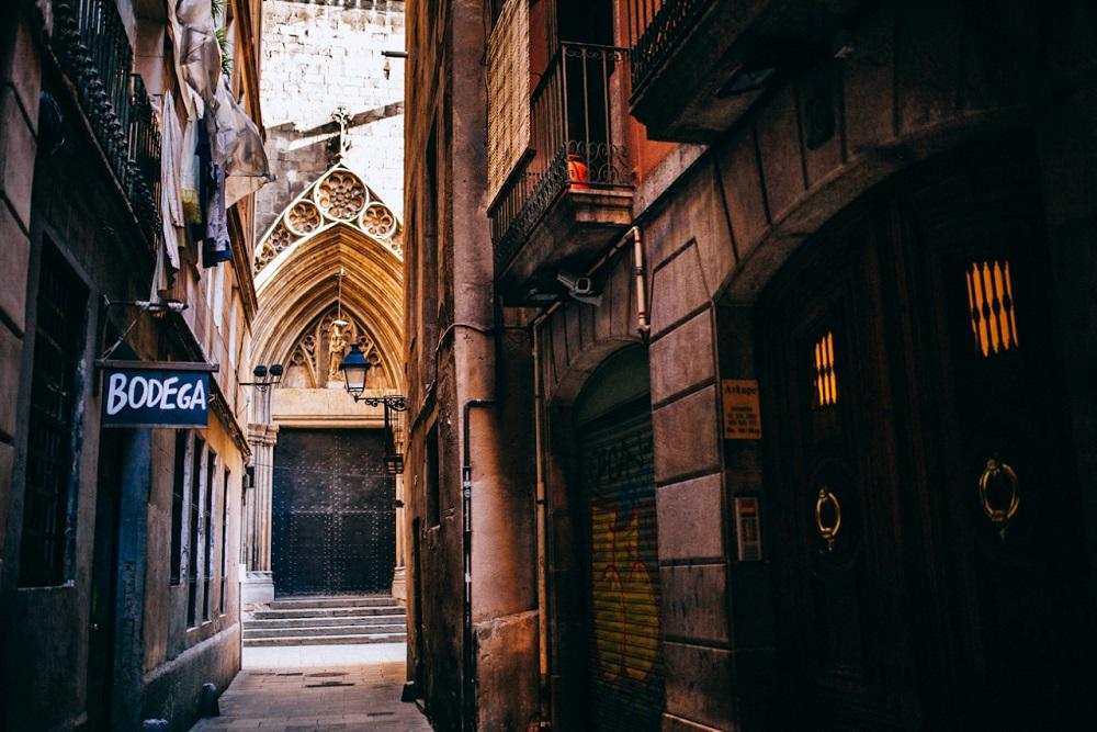 خیابان کرر دلس میرایرس بارسلونا