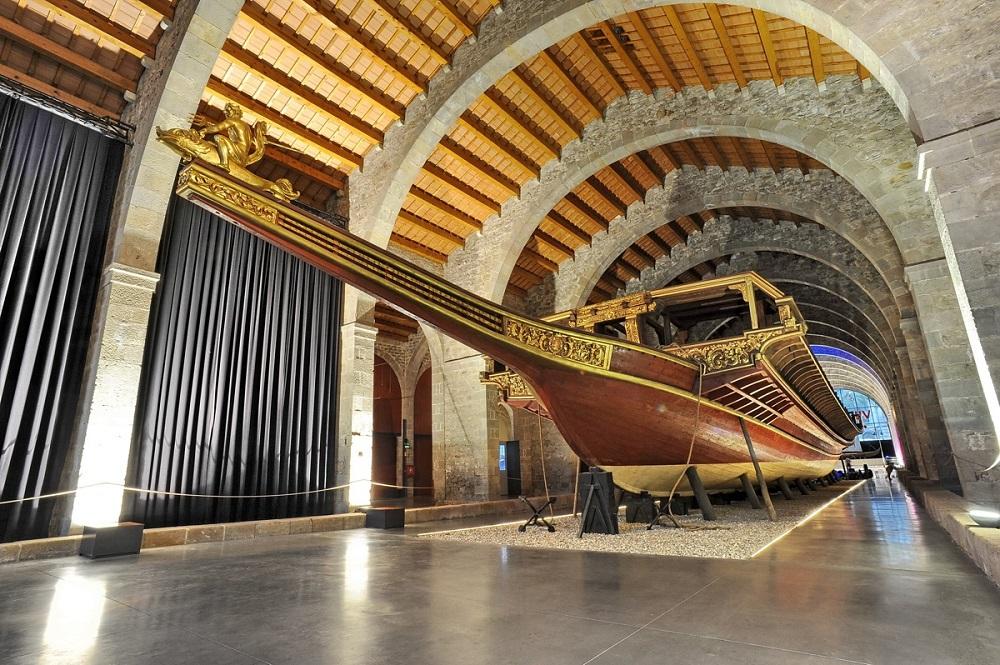 موزه دریایی بارسلونا