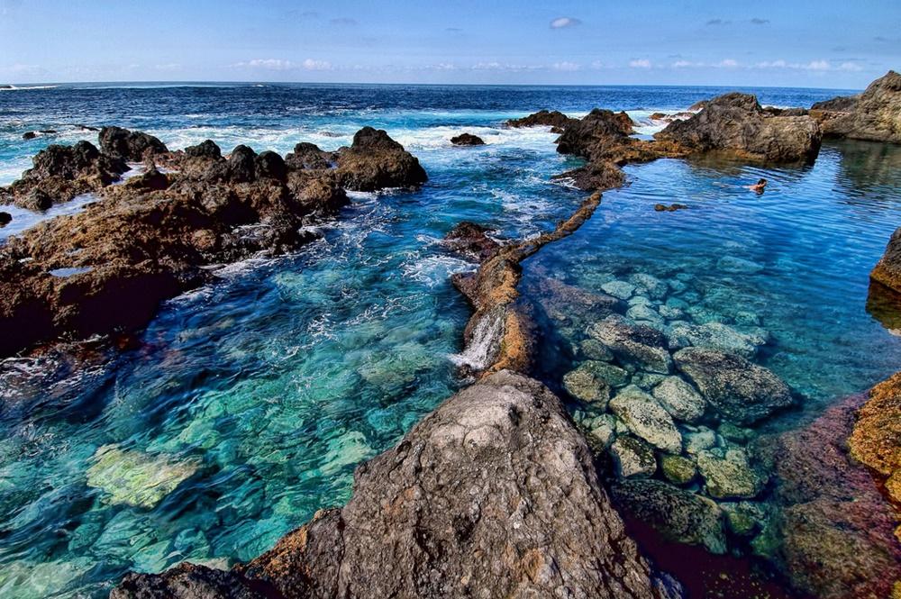 استخرهای گاراچیکو جاذبه غیر عادی ساحل