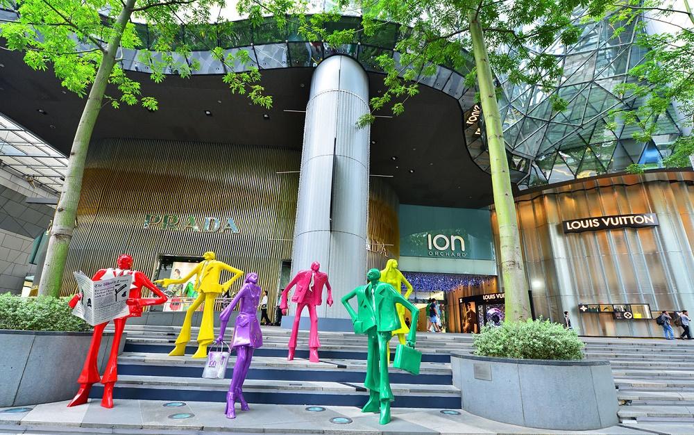 مرکز خرید ایون اورچارد سنگاپور