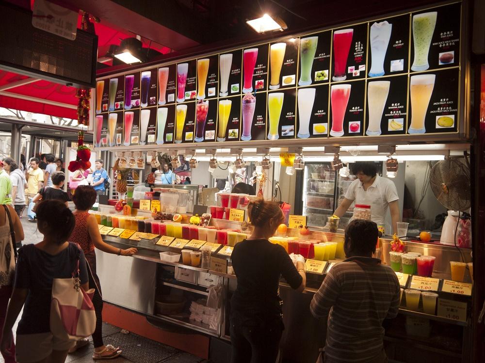 رستوران ها و کافه های اطراف بازار خیابانی بوگیس