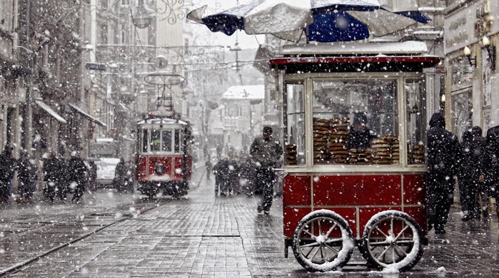 آب و هوای استانبول در زمستان
