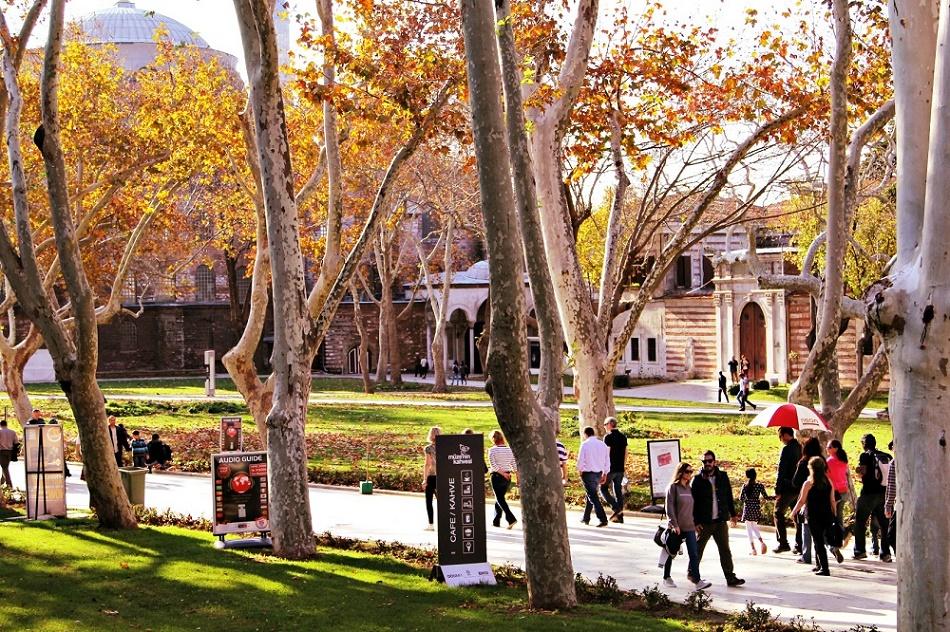 آب و هوای استانبول در پاییز