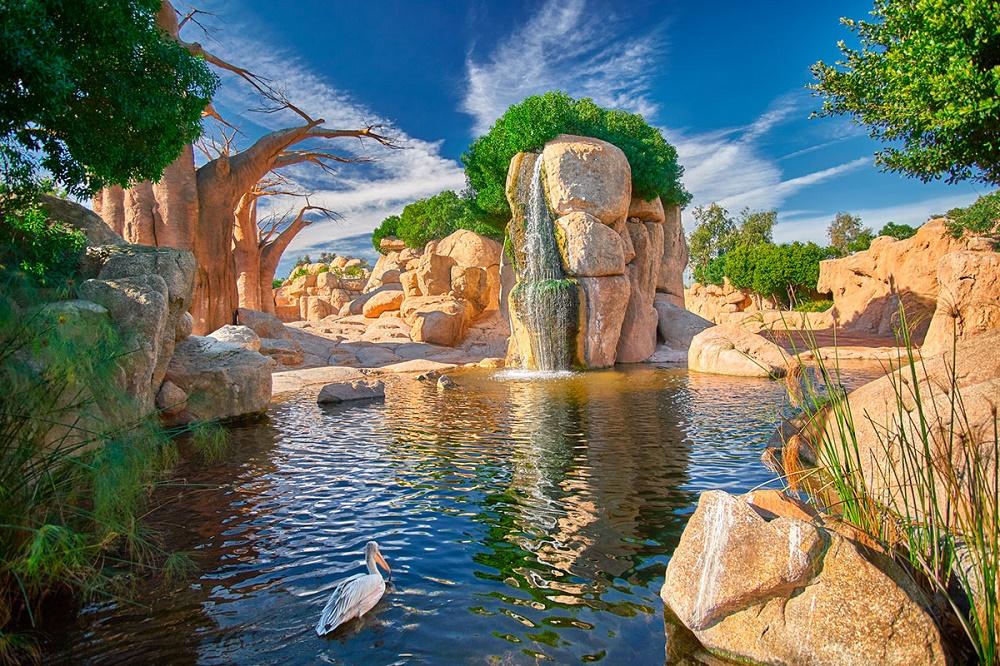 تاریخچه ساخت این باغ وحش