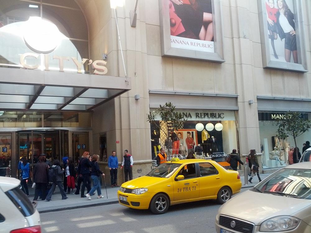 مرکز خرید سیتیز نیشان تاشی استانبول