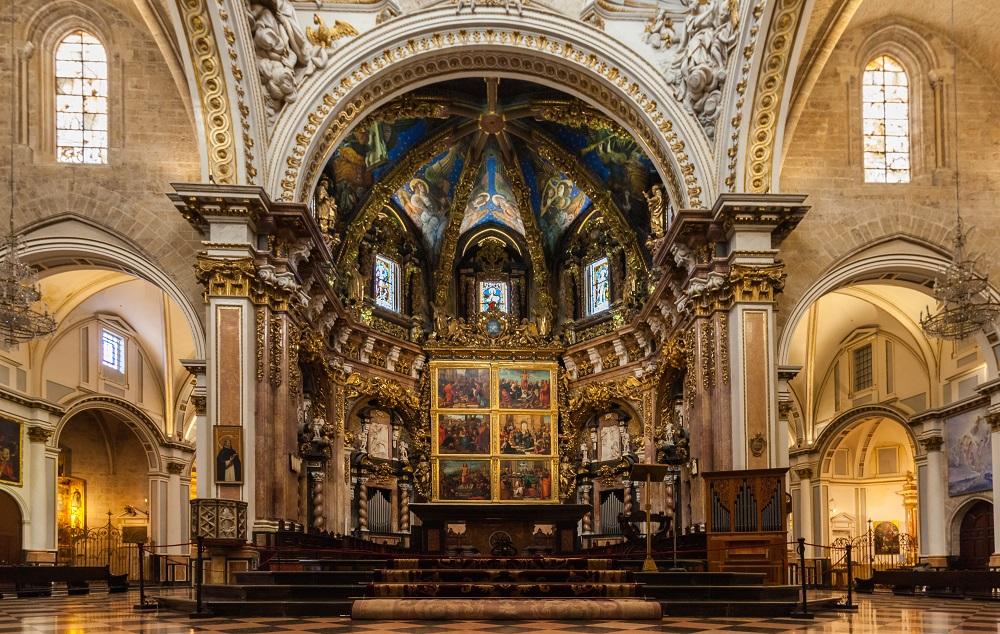 تاریخچه کلیسای جامع مقدس والنسیا