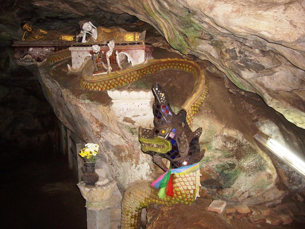 مجسمه هاي غار چيانگ دائو