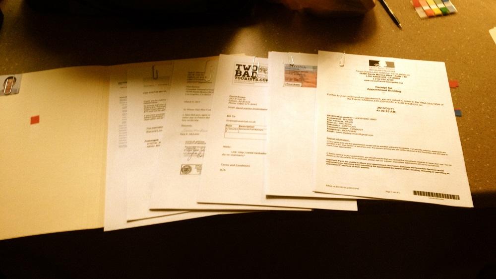 مدارک مورد نیاز برای دریافت ویزای توریستی اروپا
