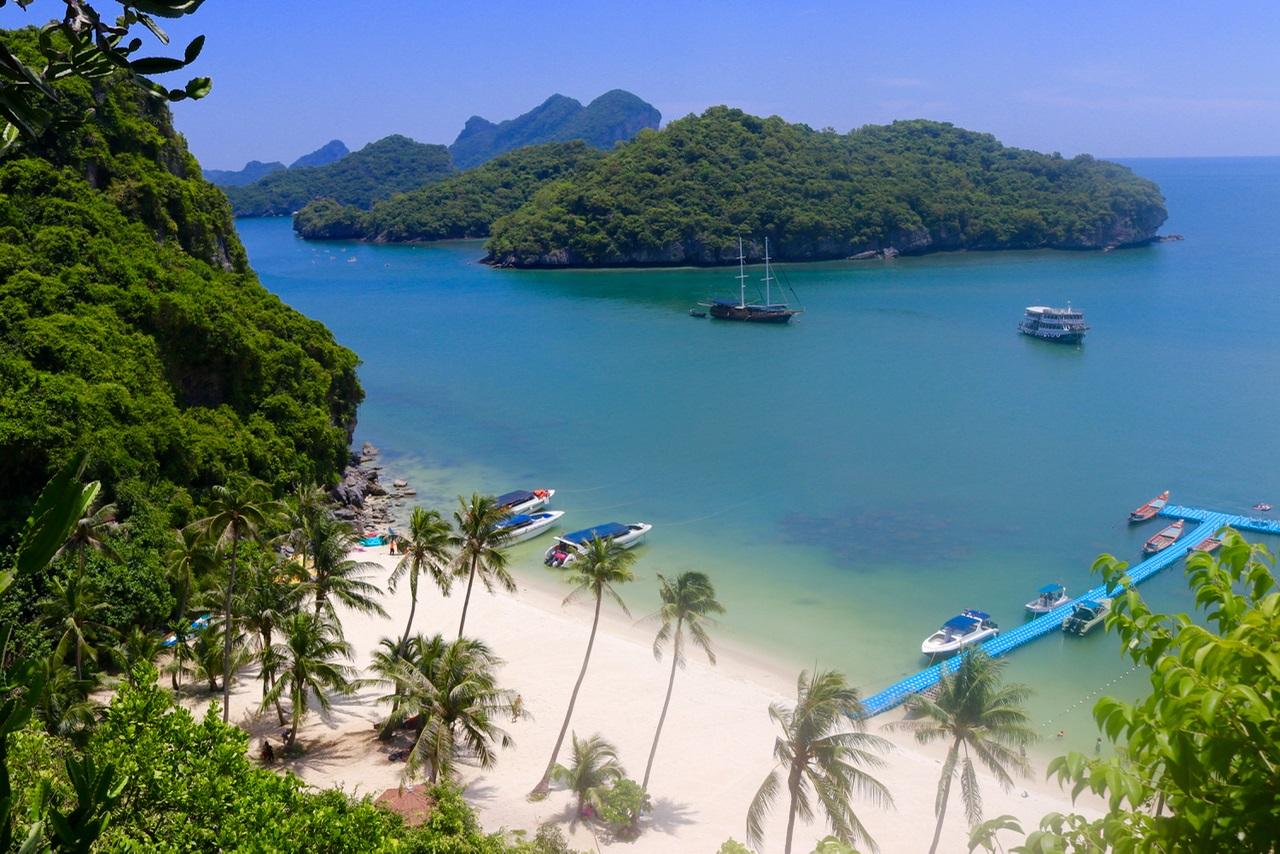 امکانات تفریحی و خدمات رفاهی پارک ملی مو کو آنگ تونگ تایلند