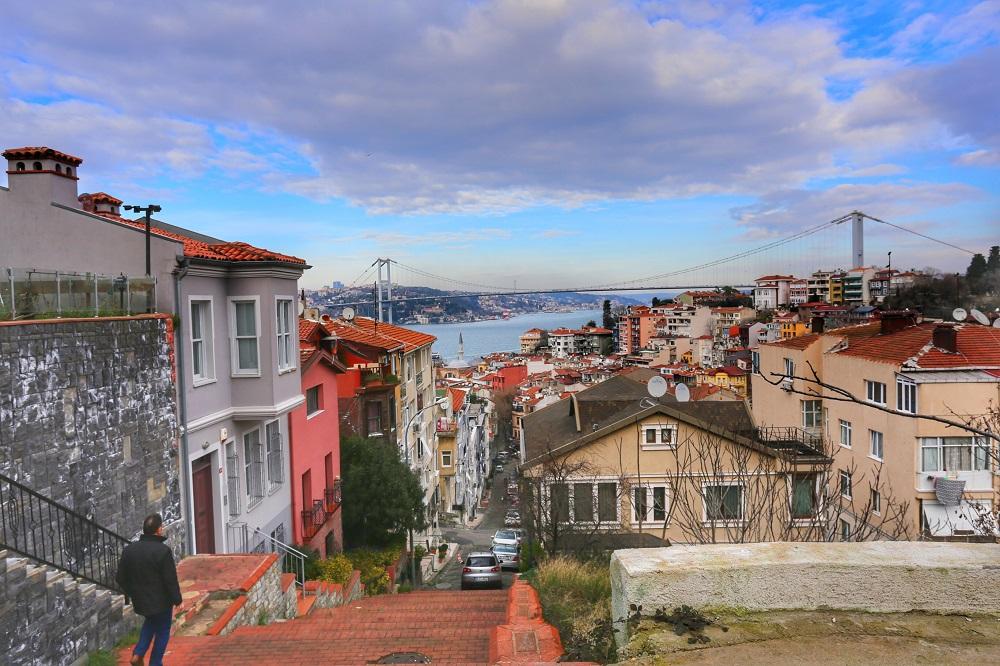 کوزگونکوک، خیابانی قدیمی محله سالاساک