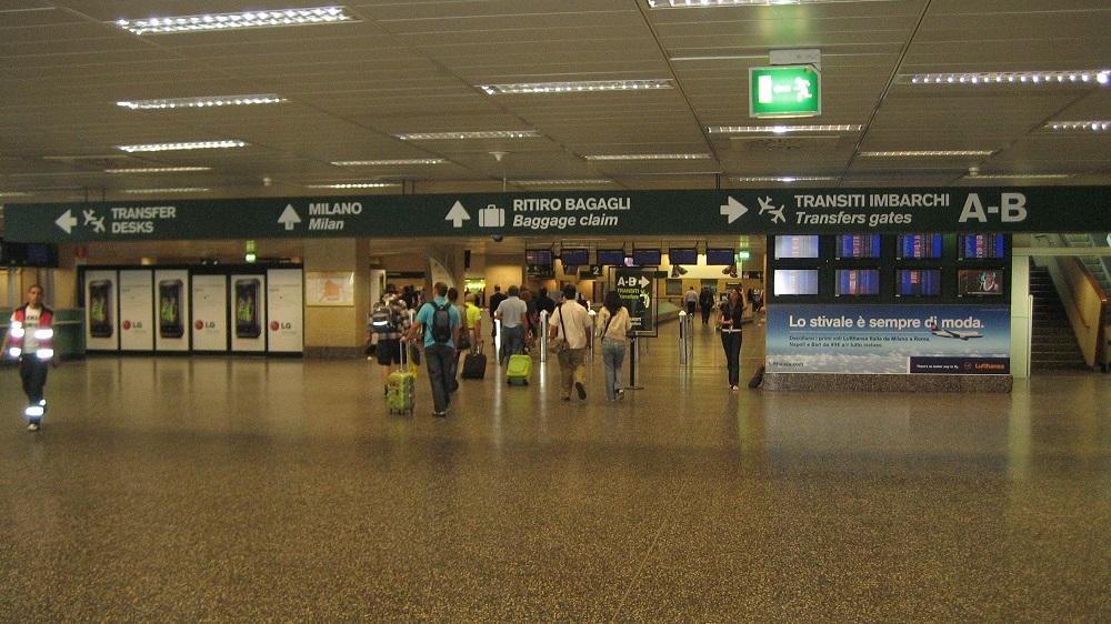 پایانه شماره یک فرودگاه میلانو مالپنسا