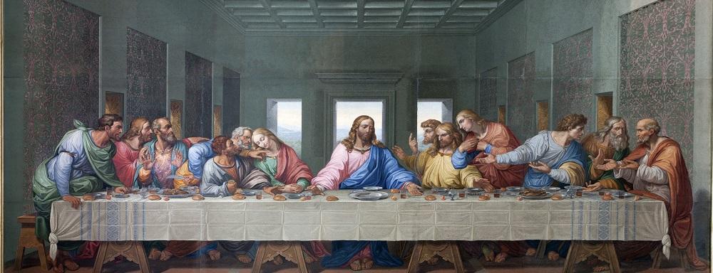 شخصیت های تابلوی شام آخر لئوناردو داوینچی
