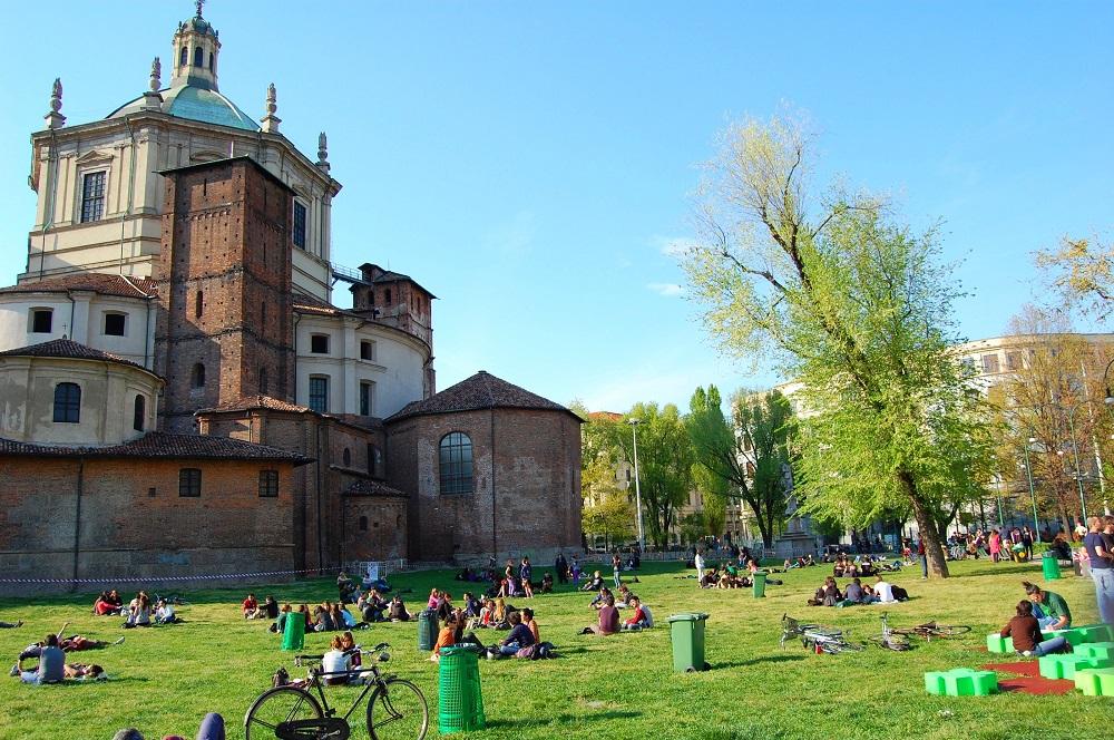 پارک شهر میلان در محله ناویلی