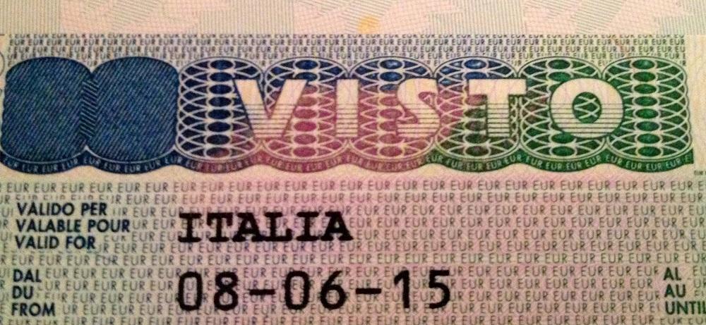 مدارک لازم برای ویزا و سفارت ایتالیا