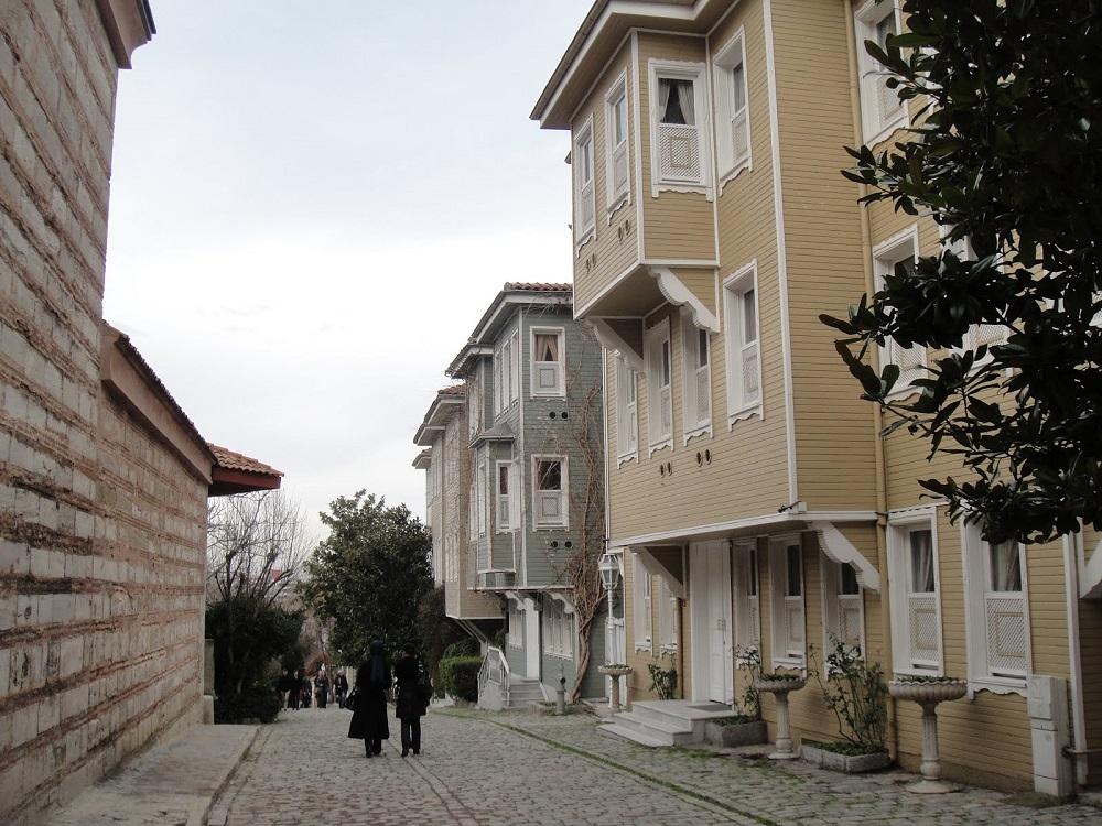 بازسازی خیابان سئوک چشمه استانبول