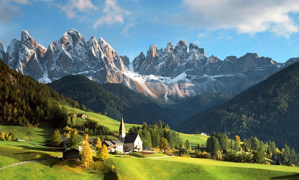 گونه های گیاهی پارک ملی گرن پارادایز ایتالیا