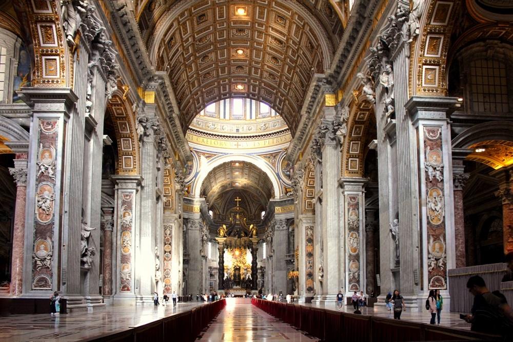تاریخچه ساخت کلیسای سنت پیتر ایتالیا