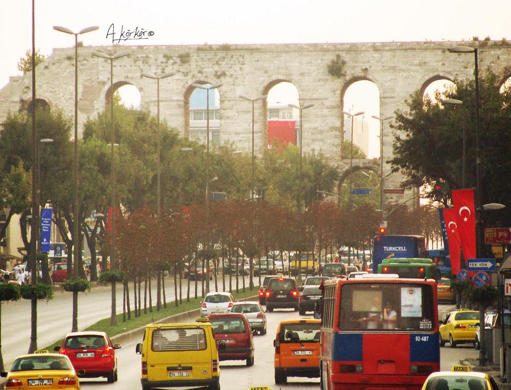 تاریخچه آبراهه والنس استانبول