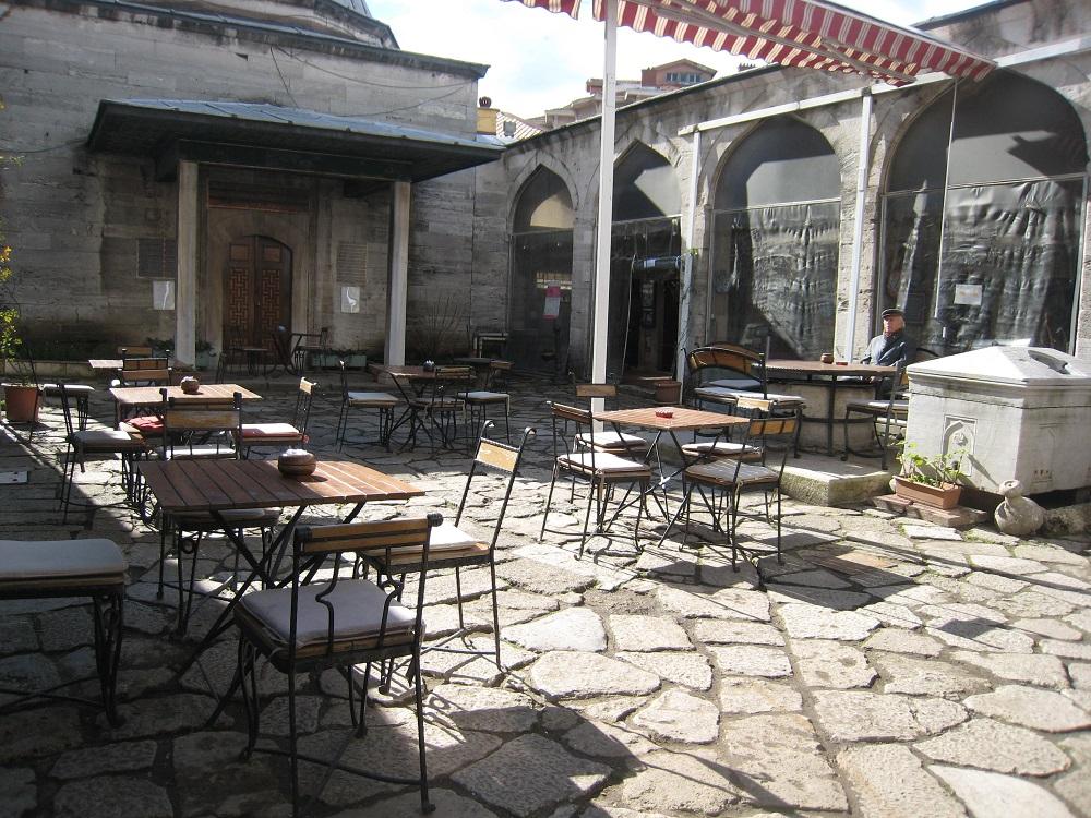 دیگر قسمت ها و امکانات مدرسه کافر آغا استانبول