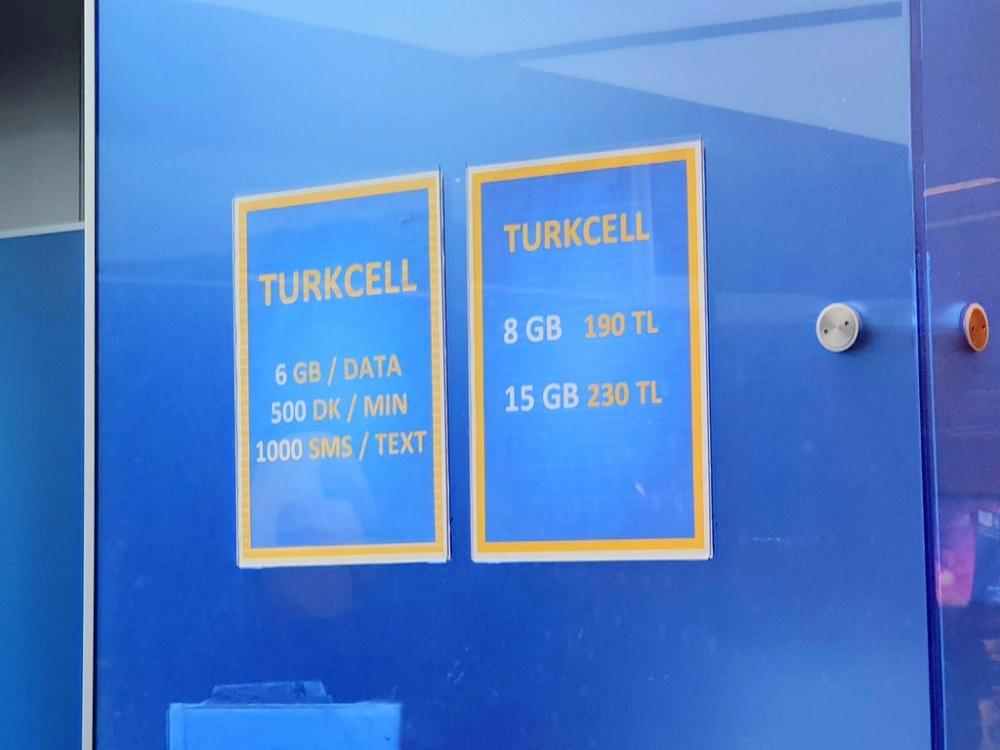 خدمات سیم کارت گردشگری استانبول