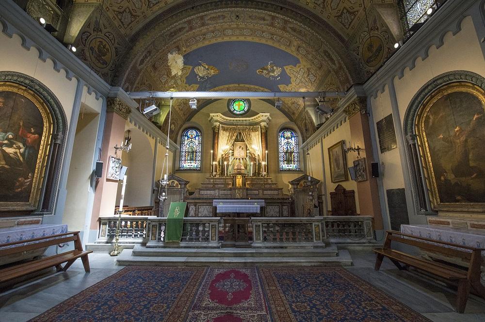 تاریخچه کلیسای سنت کاری دریپریز استانبول