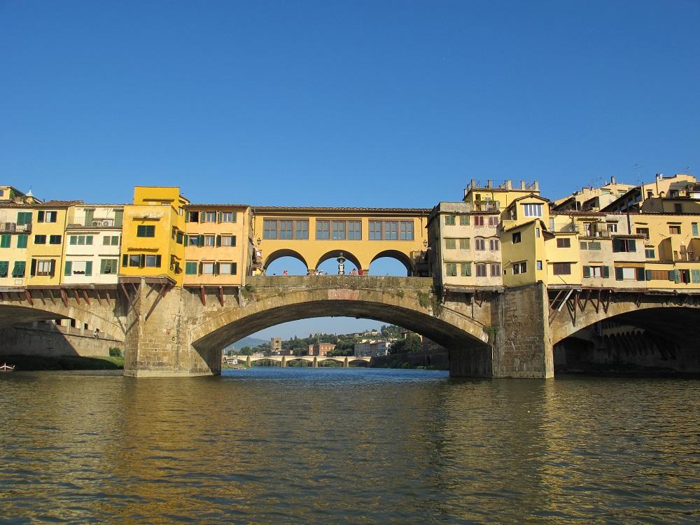پل پونته وچیو در فلورانس ایتالیا