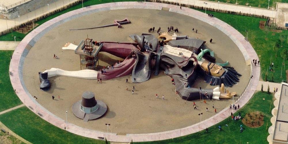پارک گالیور والنسیا در اسپانیا