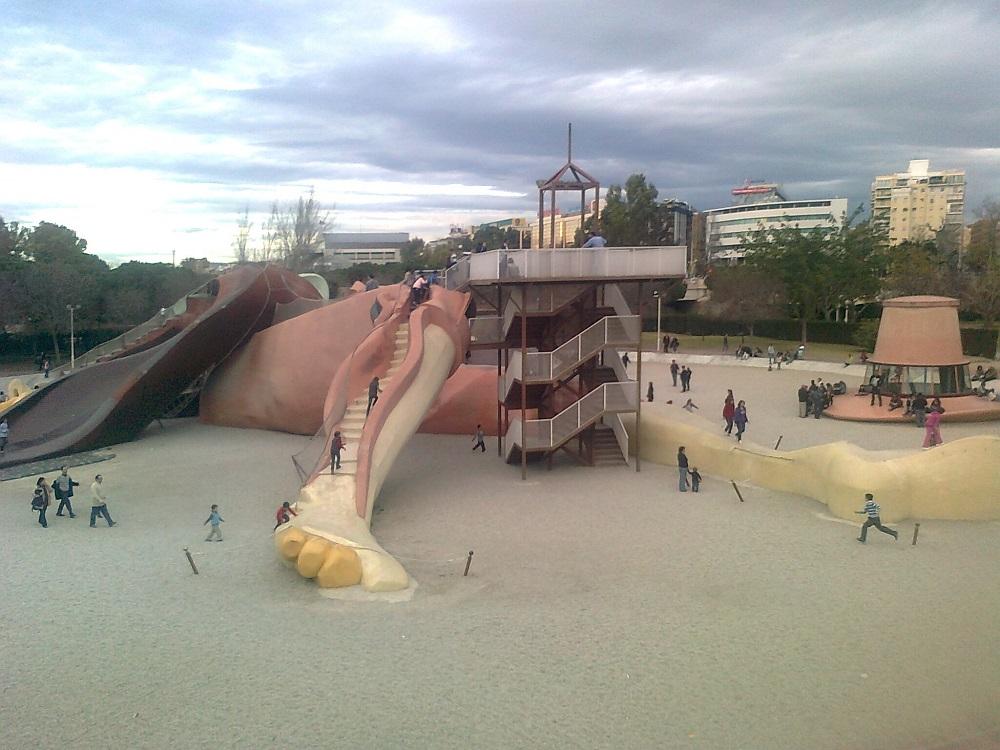 امکانات تفریحی در پارک گالیور