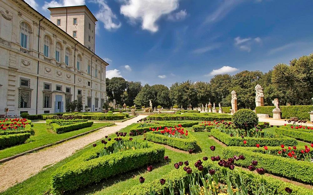 گالری و باغ های بورگز رم