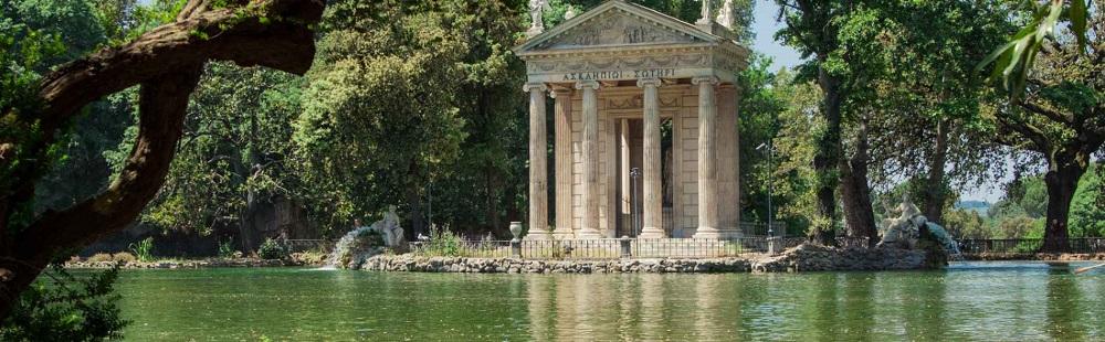 ویلاهای باغ بورگز رم