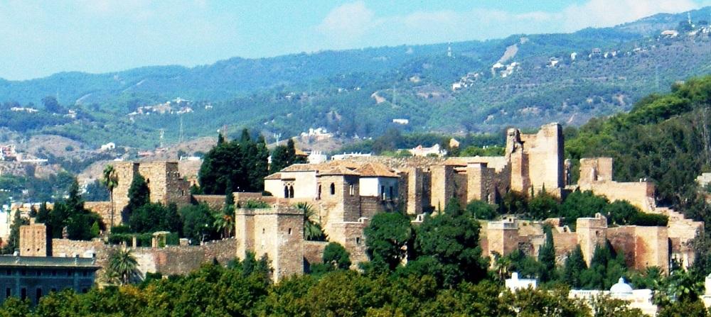 قلعه آلکازبا در سواحل مالاگا اسپانیا