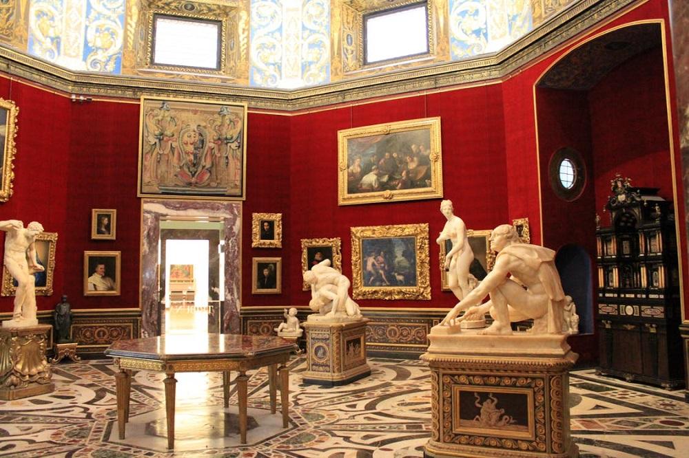 تاریخچه گالری اوفیتزی فلورانس