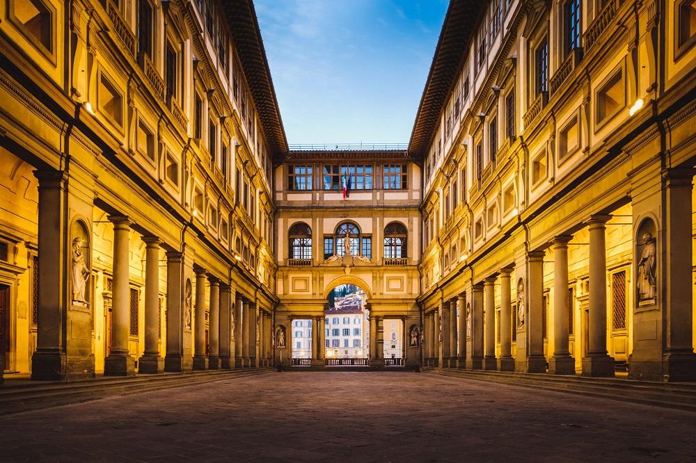 گالری اوفیتزی فلورانس ایتالیا
