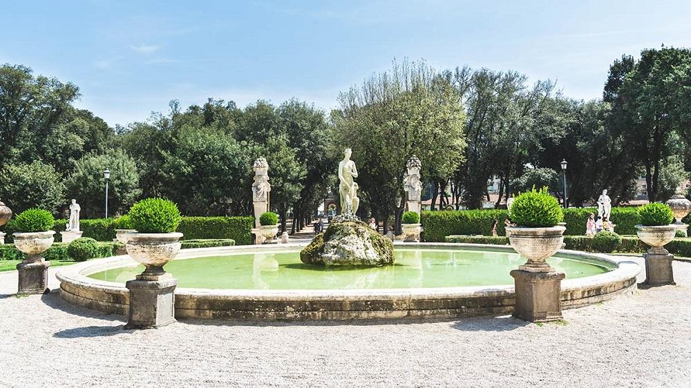 باغ های ویلای بورگزه رم