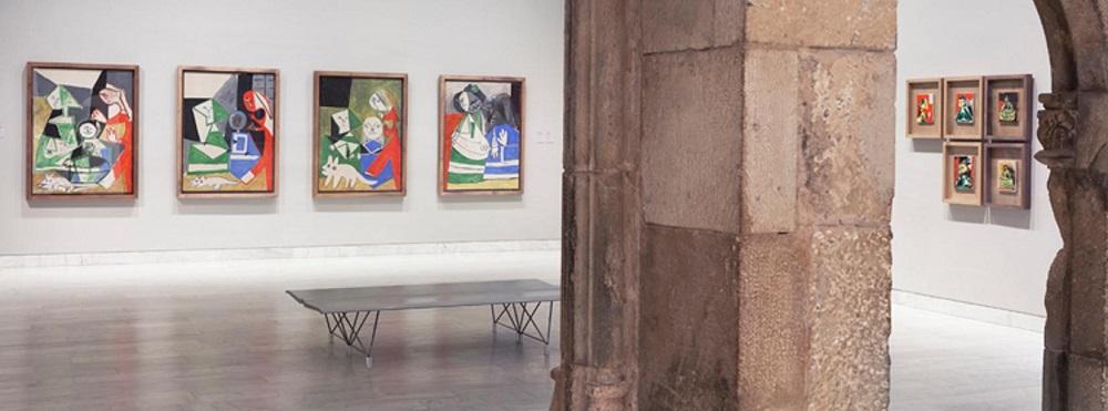 قسمت های مختلف موزه پیکاسو