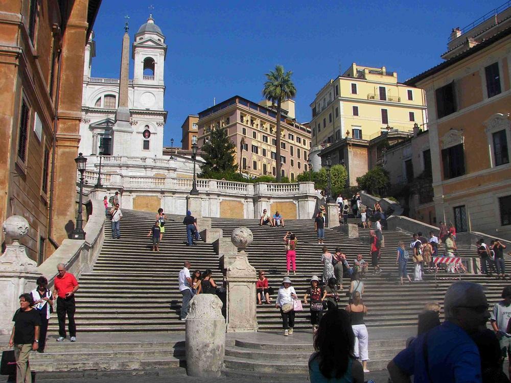 تاریخچه این پله های رم