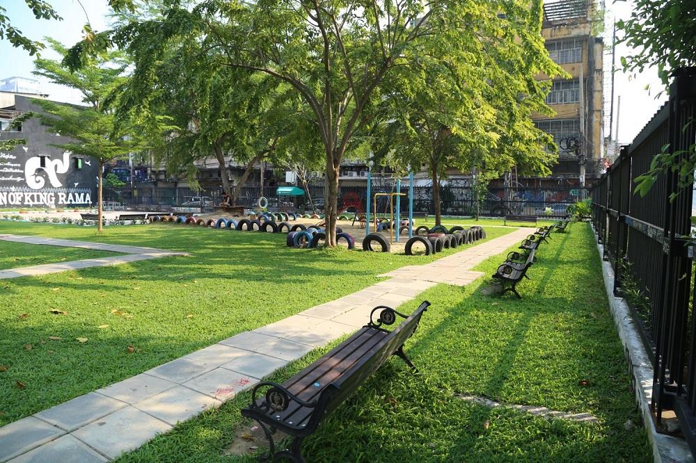قسمت های مختلف پارک