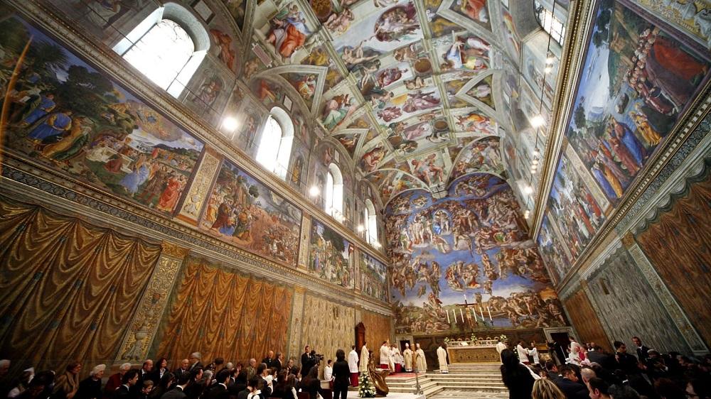کلیسای سیستین در واتیکان ایتالیا