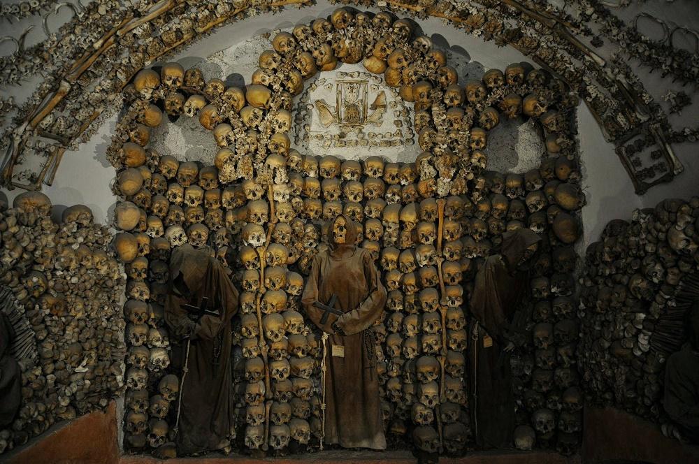 موزه و سردابه کاپوچین با اسکلت چهار هزار راهب در رم