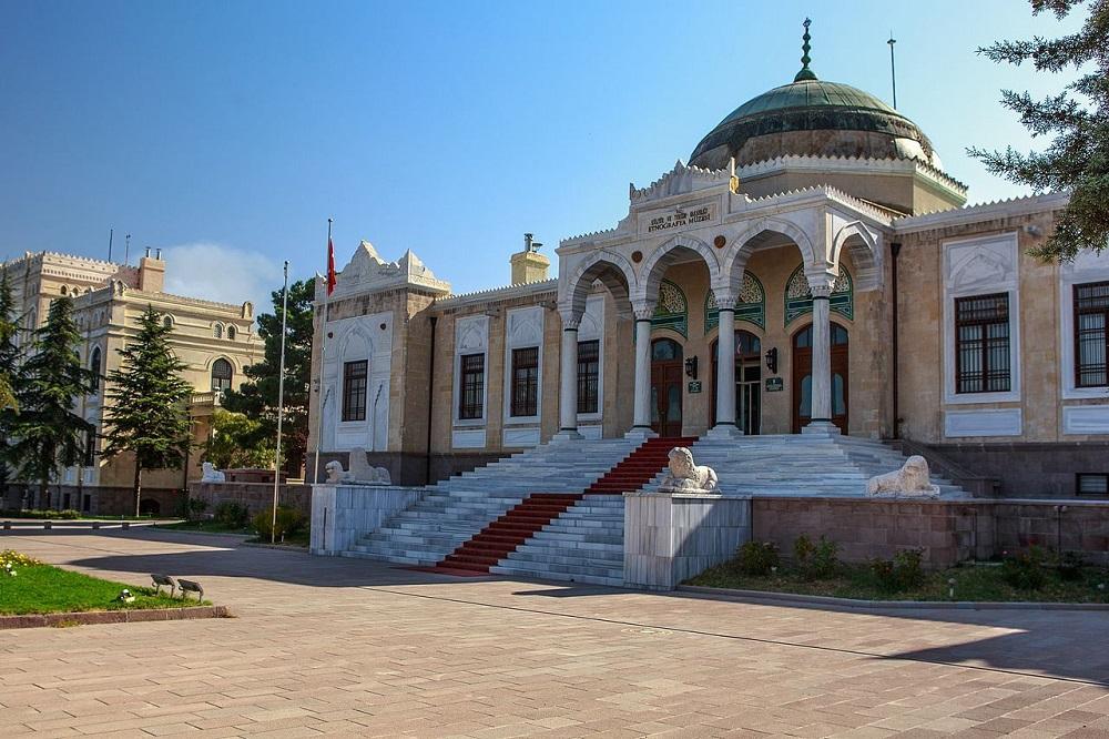معماری زیبای موزه فرهنگ آنکارا