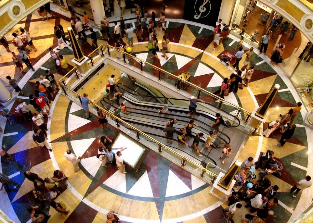 فروشگاه ها و مغازه های مرکز خرید یوروما 2