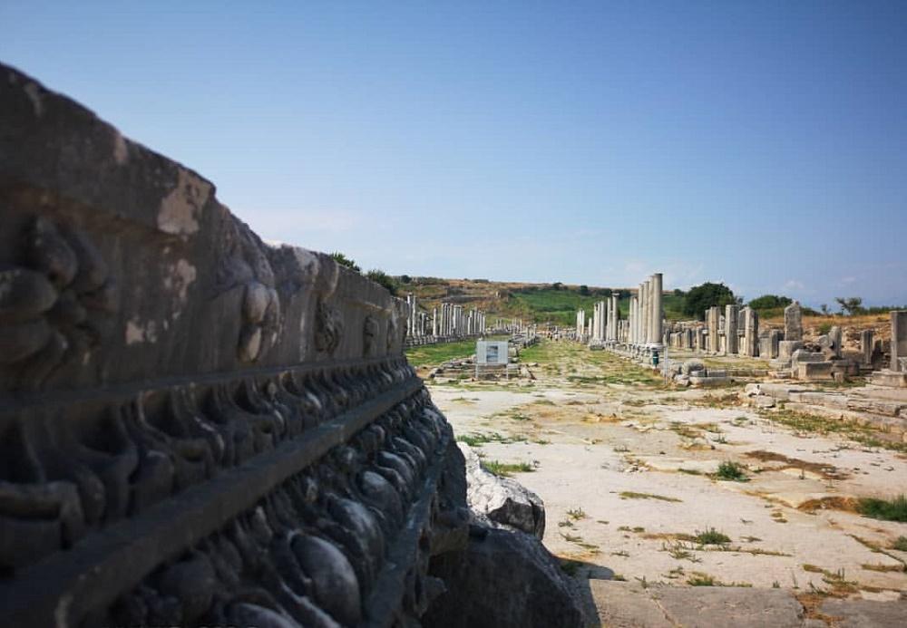 شهر باستانی پامفیلیا در آنتالیا