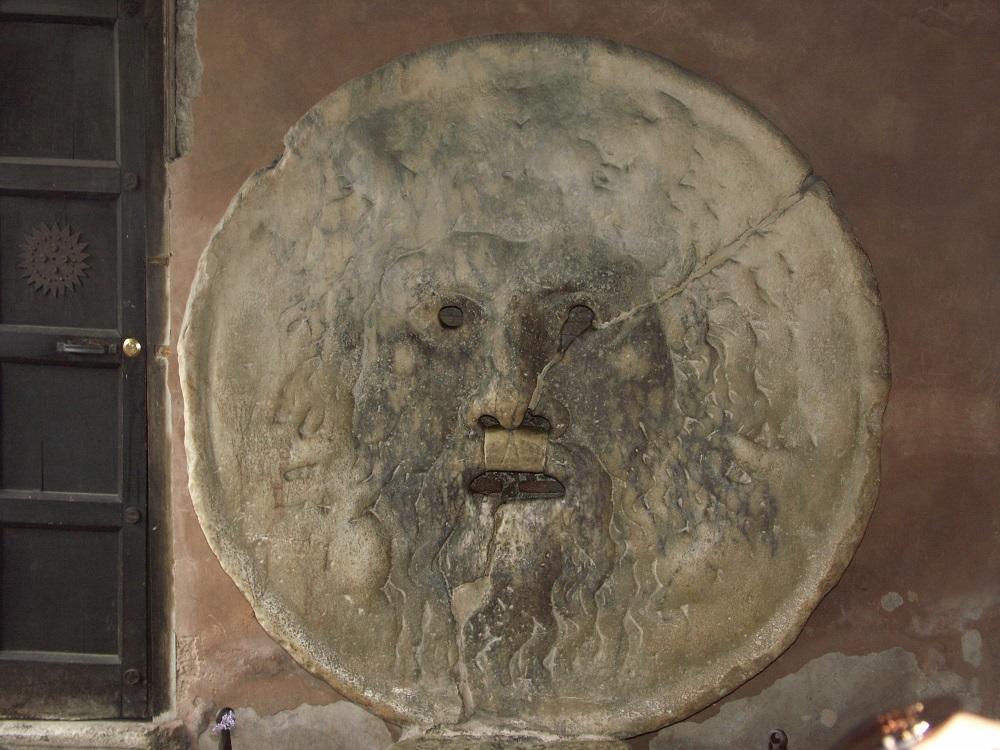 مجسمه دهان حقیقت در رم