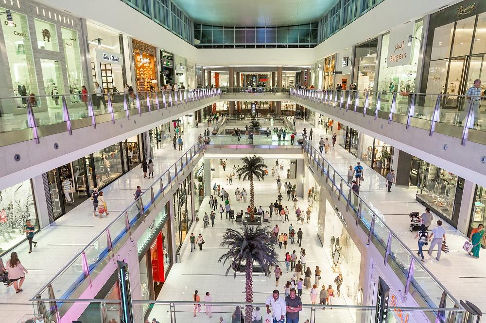 دبی مال بزرگترین مرکز خرید جهان با 1200 مغازه
