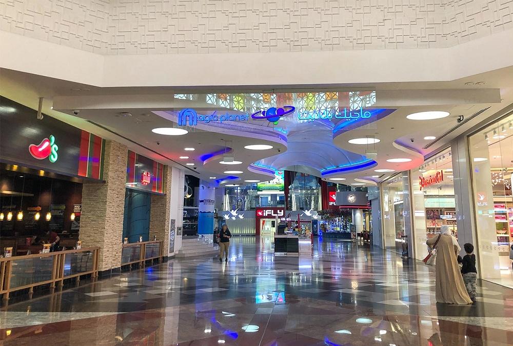 امکانات تفریحی و رستوران های این مرکز خرید دبی