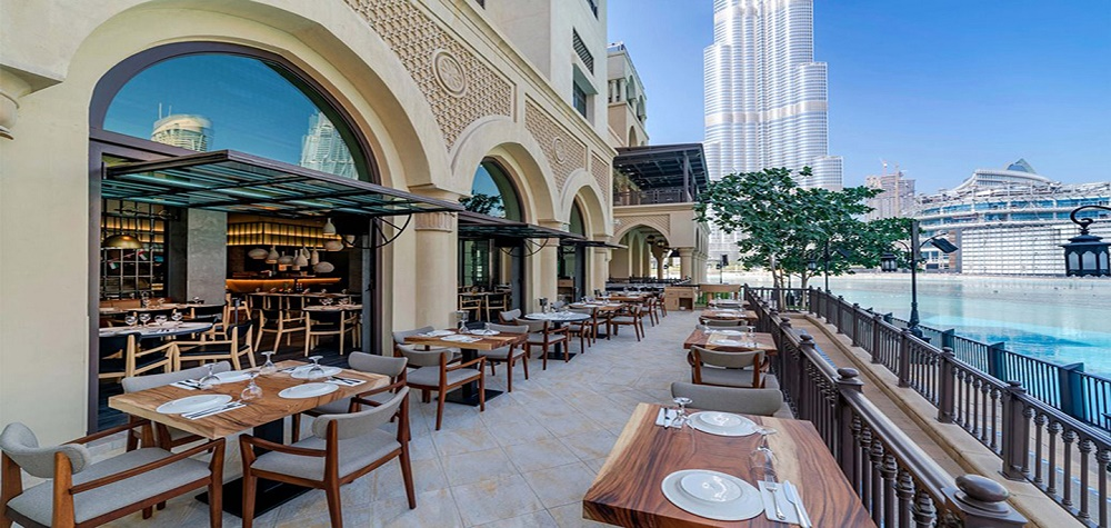 کافه و رستوران های بازار البحار