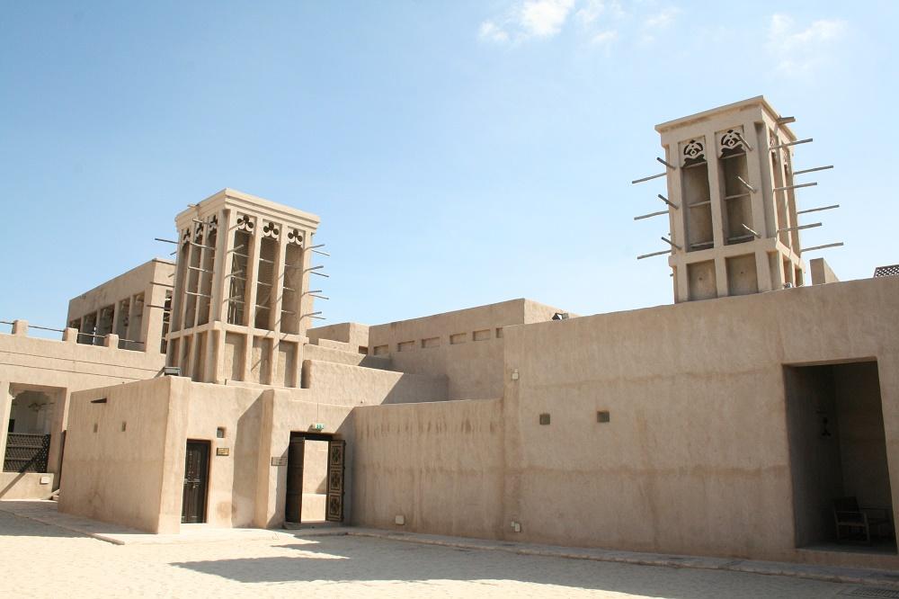طراحی و معماری خانه شیخ سعید آل مکتوم